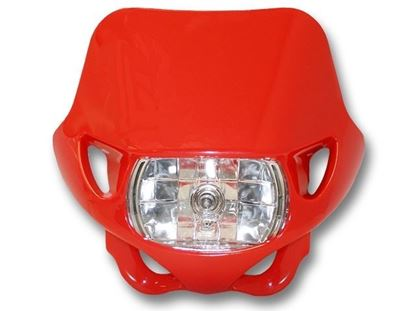 Picture of HEADLIGHT - RED